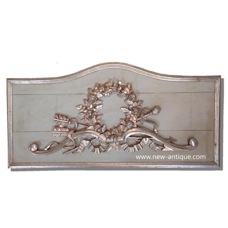 French wood paneling  Frontal door top