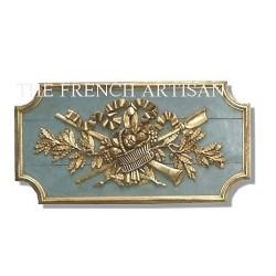 French wood paneling
