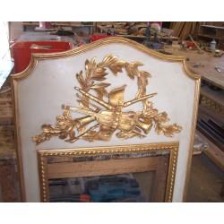 Espejo decoración de chimenea