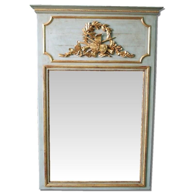 Espejo de chimenea