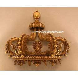 Ciel de lit demi couronne