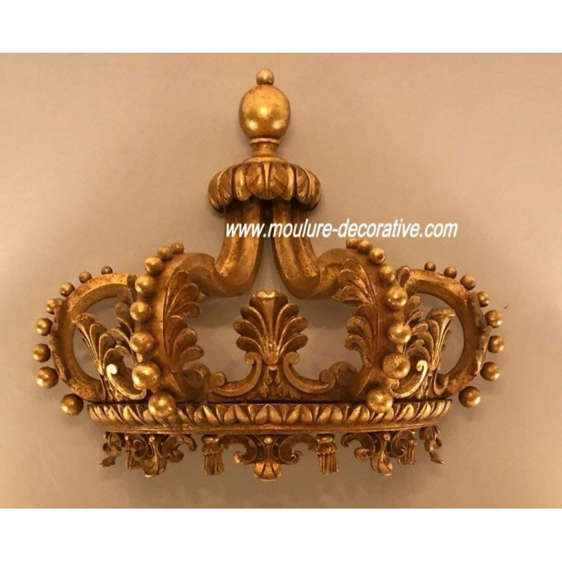 Bed Crown Canopy Head Gold