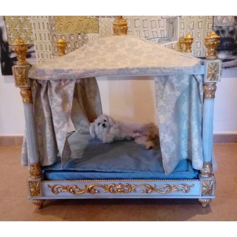 CAMA para perro de lujo y romántico.