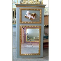 trumeau mirror with angel