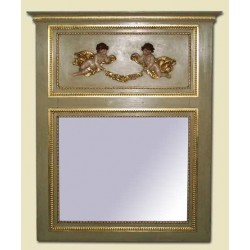 Espejo francés de chimenea