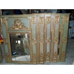 Espejo de chimenea francés