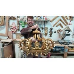 Maestro artesano en su taller