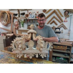Craftsman in his studio